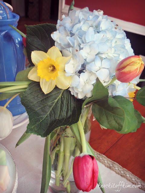 spring tea - partyflowers