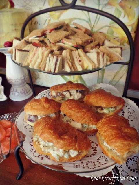 spring tea - partysandwiches