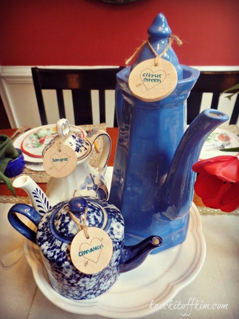 spring tea - partyteapotcenterpiece