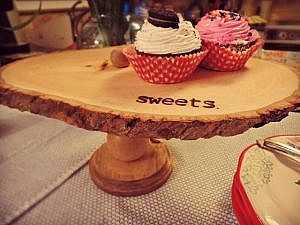 Rustic Sweets Stand: March Create and Share Challenge with Walnut Hollow!