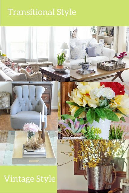 transitional decor style spring