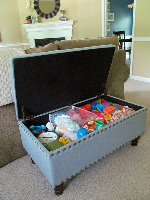 Multi-purpose Room - Built-in Storage Bench