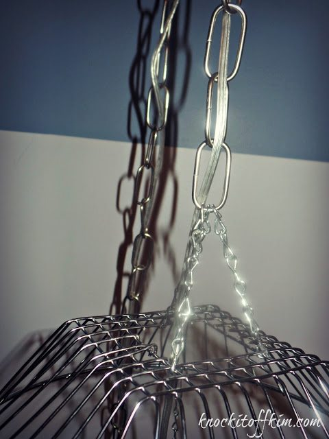 tiered fruit basket - reattach links
