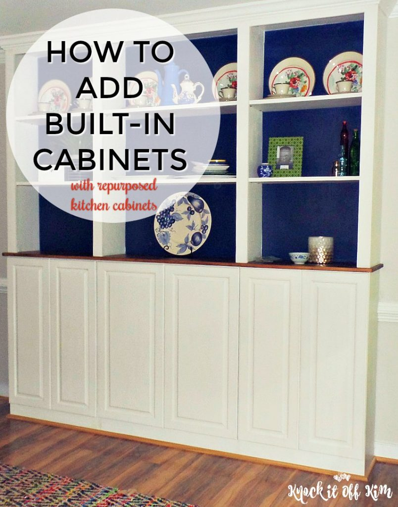 Add built-in cabinets
