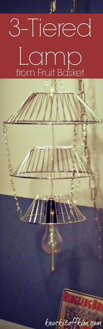 repurposed 3 tiered fruit basket pin