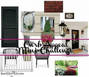 Curb Appeal Mini Challenge - The Plan - Curb Appeal Blog Hop 2016