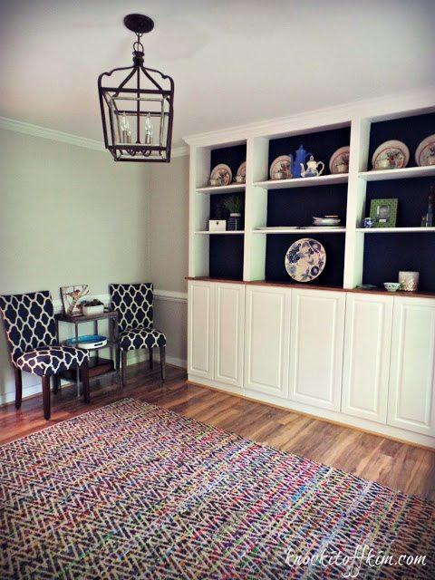 multi-purpose room built-ins