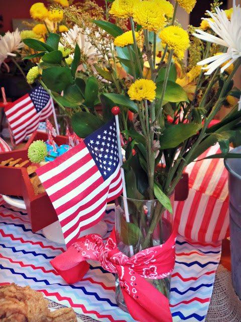 patriotics decorations_flowers