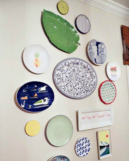 Decorative Plates Wall