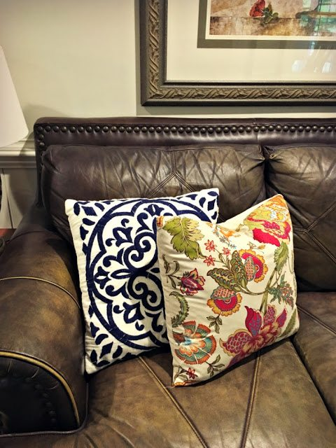 fall home decor - throw pillows