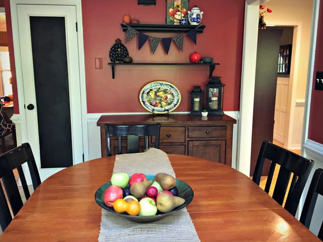 cheap and easy autumn decorating