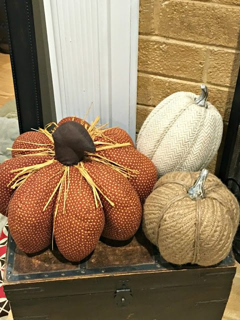 Fall decorating for the home