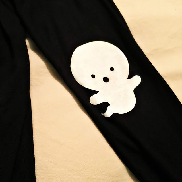 Halloween-Ghost-Elbow-Patch