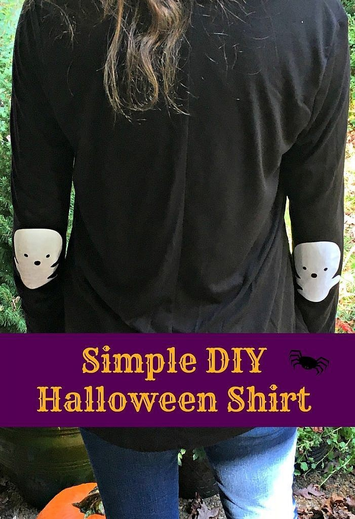 Simple DIY Halloween Shirt