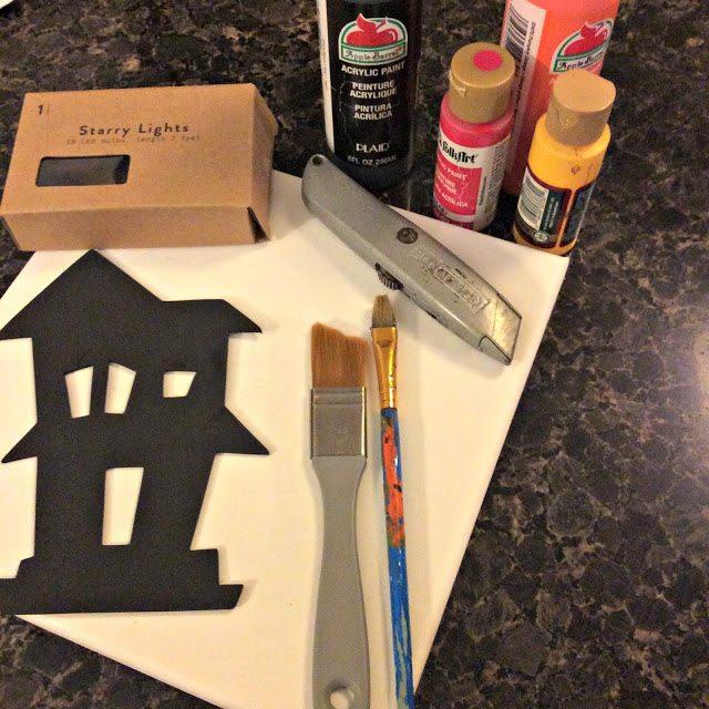 lit canvas - supplies