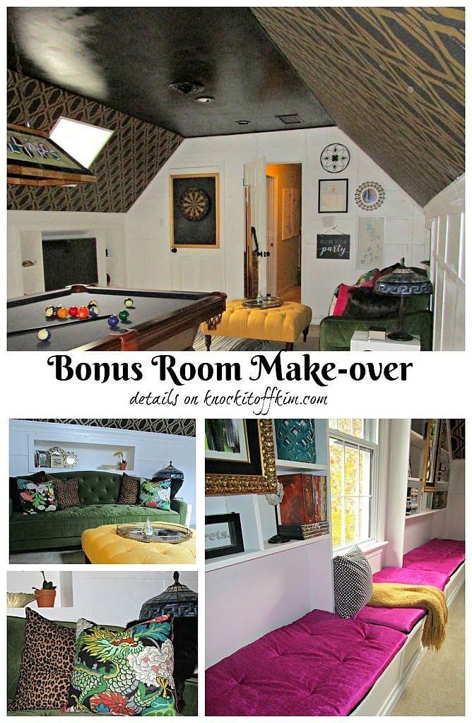 Game Room Make-over