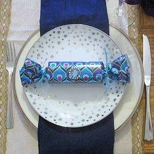 Christmas Crackers-on plate