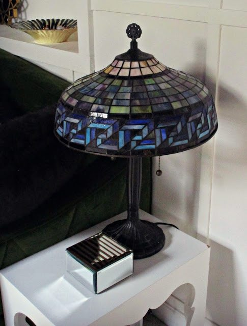 Tiffany Stained glass tyle Art Deco Decor Lamp