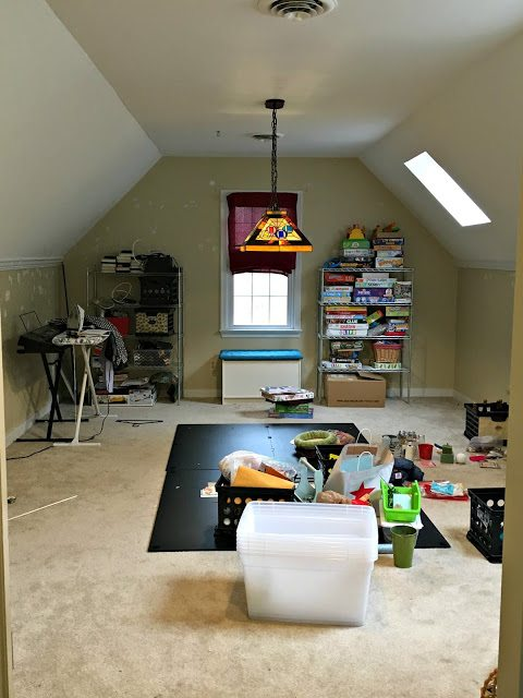 Game Room Before 3