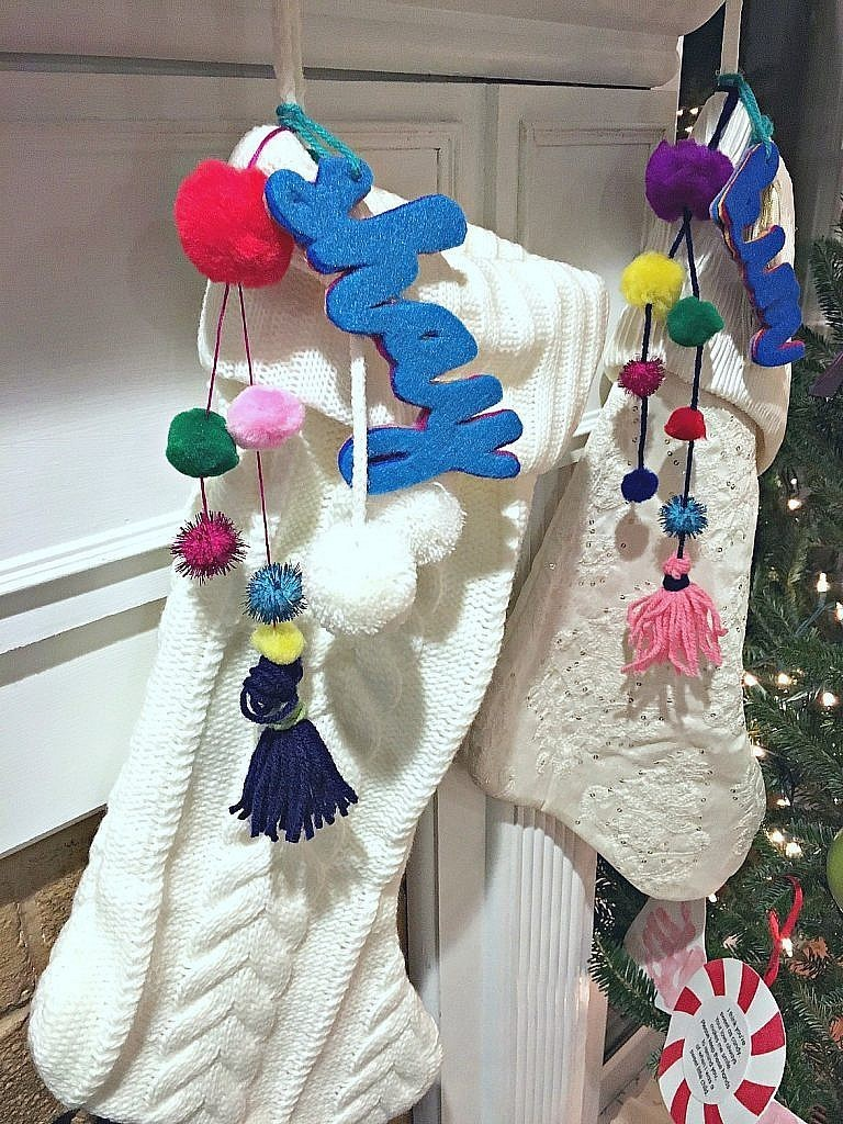 Personalized Christmas Stockings-different colors