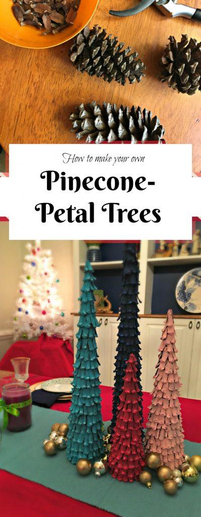 pinecone christmas craft