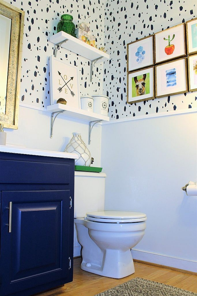 100 Budget Bathroom Makeover with Paint