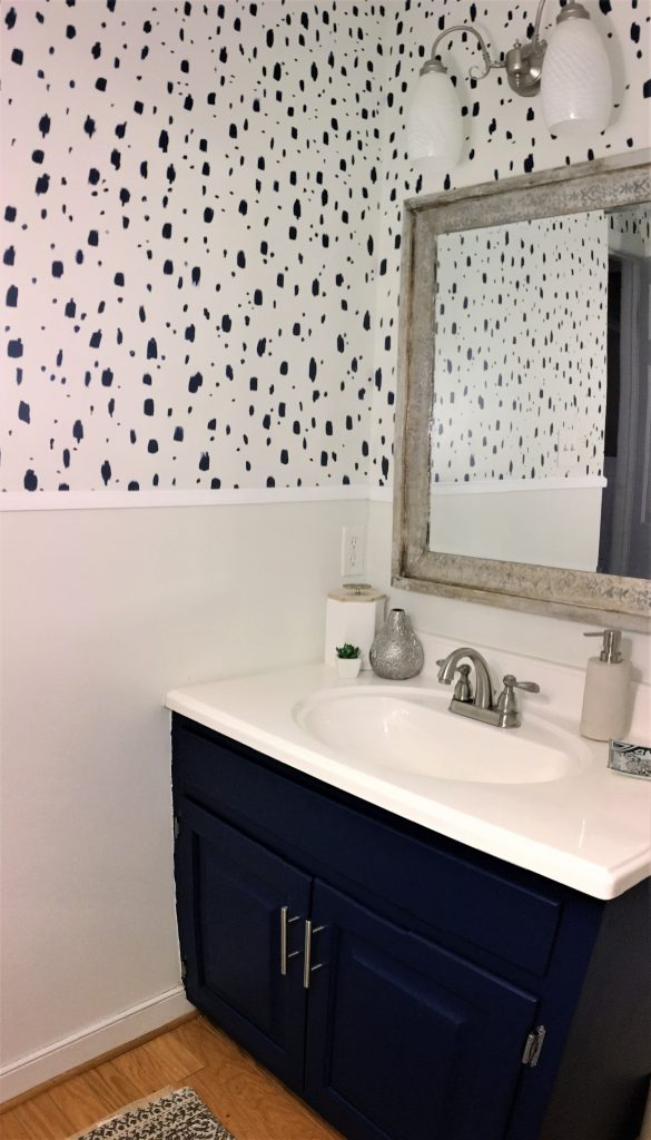 Painted Stencil Wallpaper