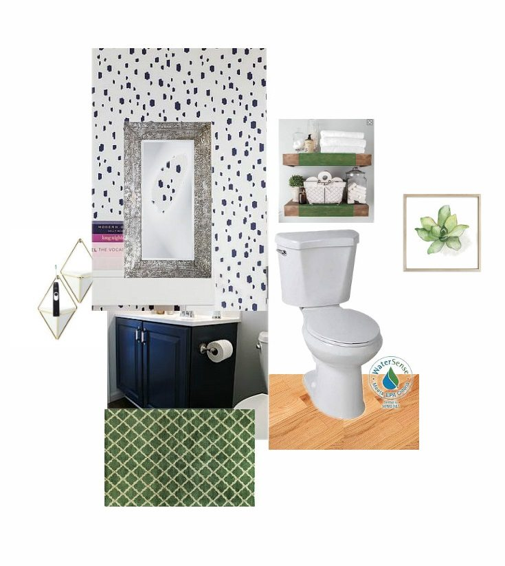 feature small bathroom inspiration