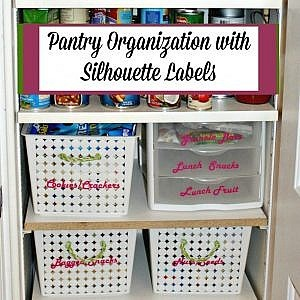 Pantry Organization Refresh - The Silhouette Creators Refresh Challenge