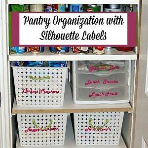 Pantry Organization Refresh - The Silhouette Creators Refresh Challenge