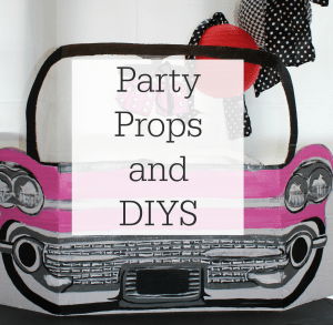 Party Props and DIYs Image