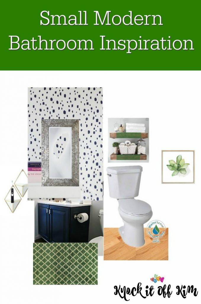 Small Modern Bathroom Inspiration
