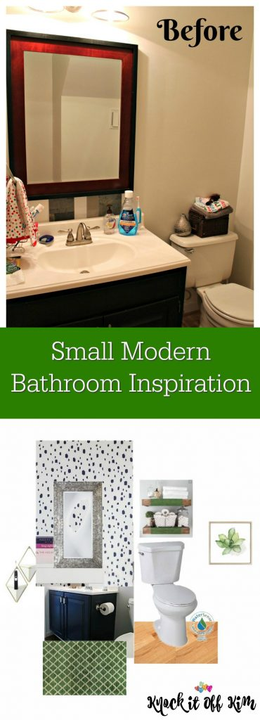 small modern bathroom inspiration pin