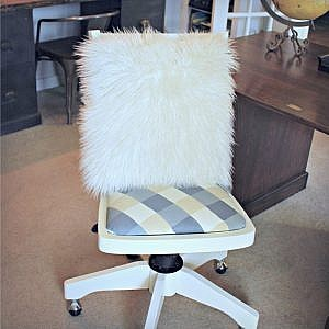 How I Made Over My Old Banker's Chair