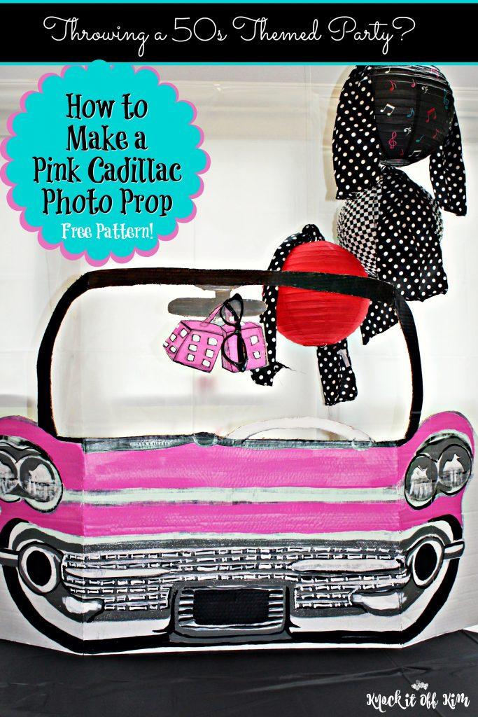 Pink Cadillac Photo Prop