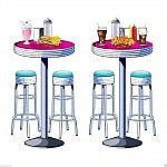soda shop diner chairs