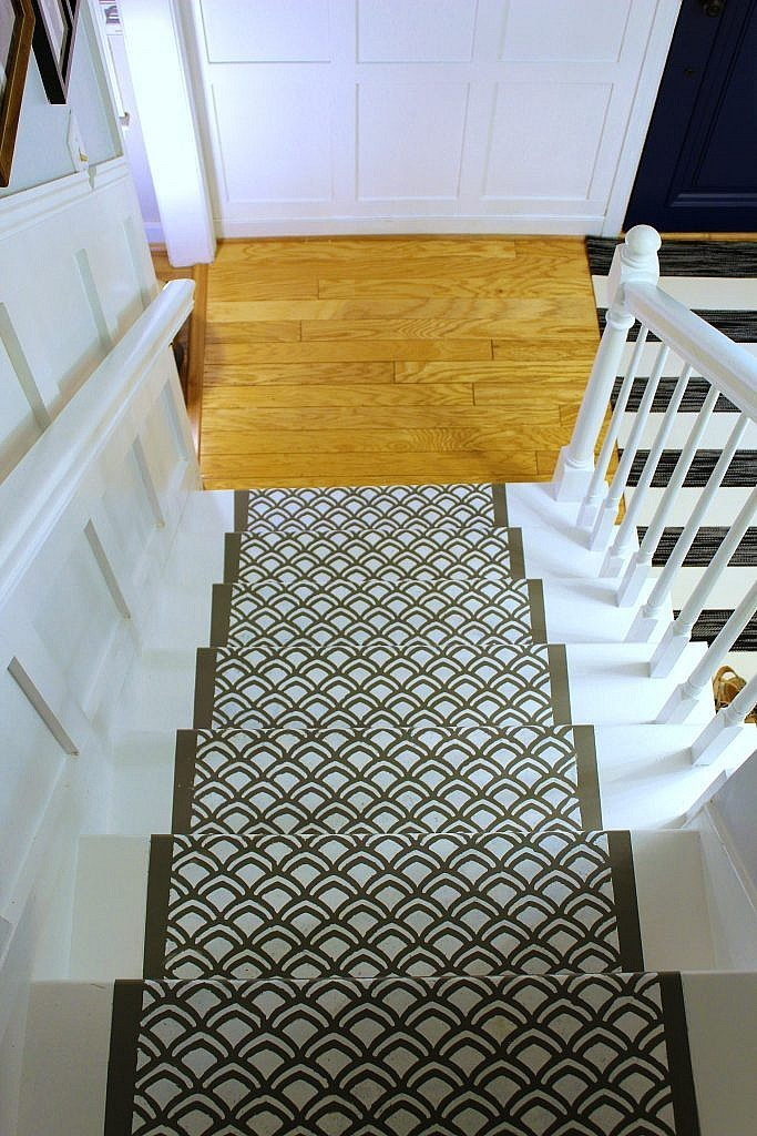 How to make-over stairs with paint