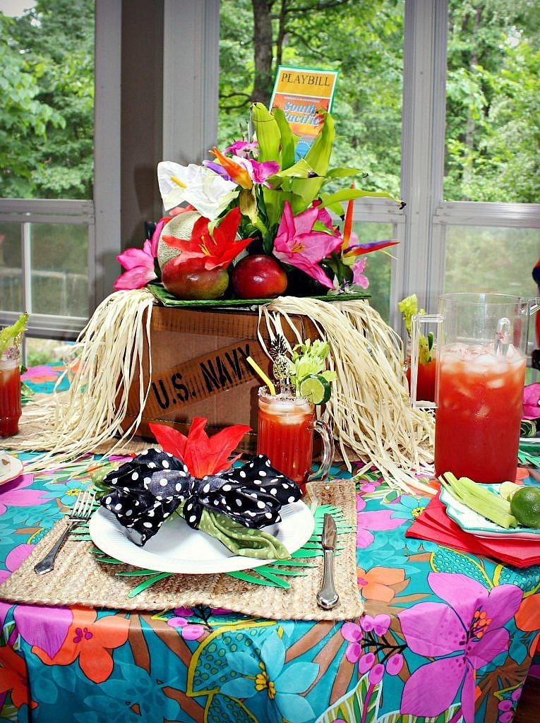 South Pacific Broadway Table Setting 9