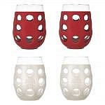 outdoor stemless wine glasses for your 4th of july porch
