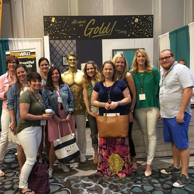 All that glitters is gold at havenconf with libertybrand! havenconfhellip
