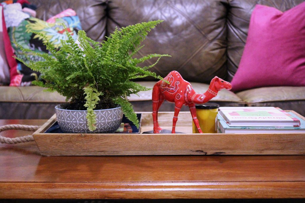 How to makeover your living room over time - camel accessory