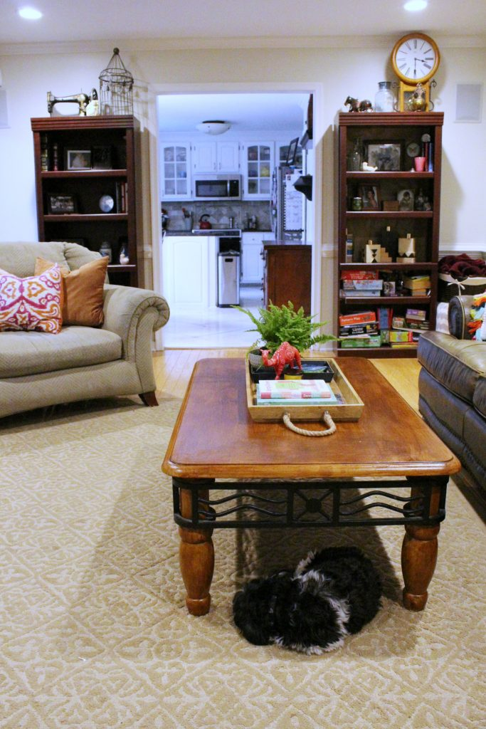 How to makeover your living room over time - coffee table