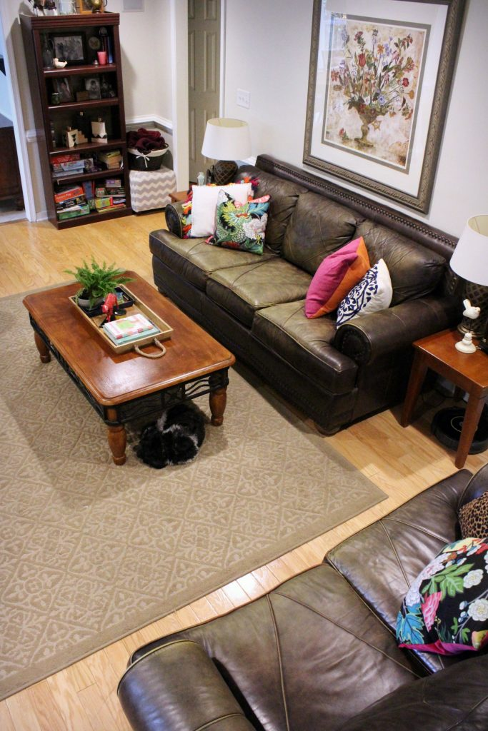 Full Living Room - How to makeover your living room over time