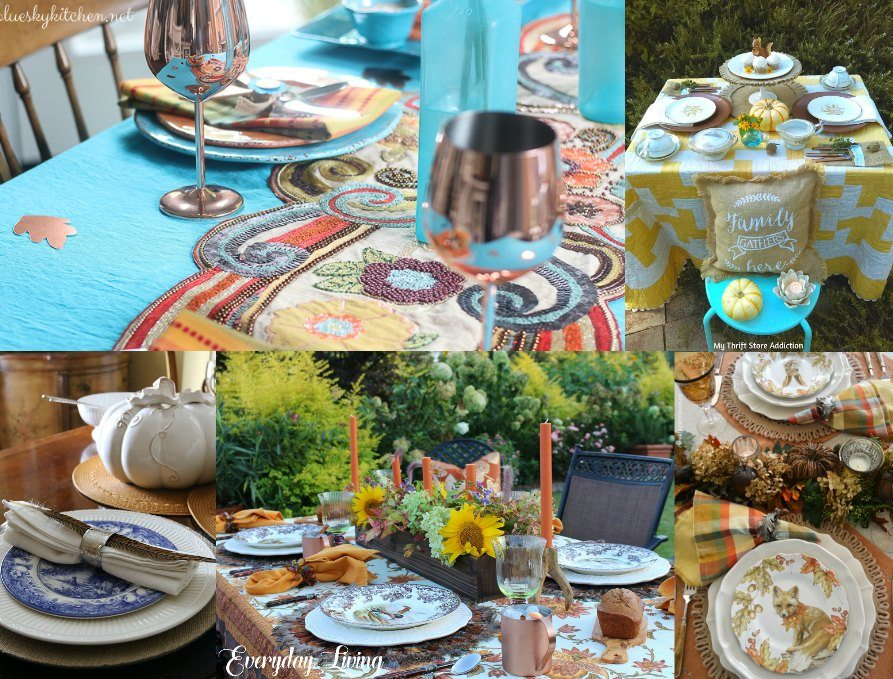 Fall Tablescape - Monday Collage