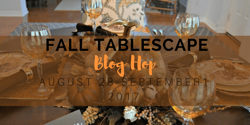 back to school party table - fall tablescape