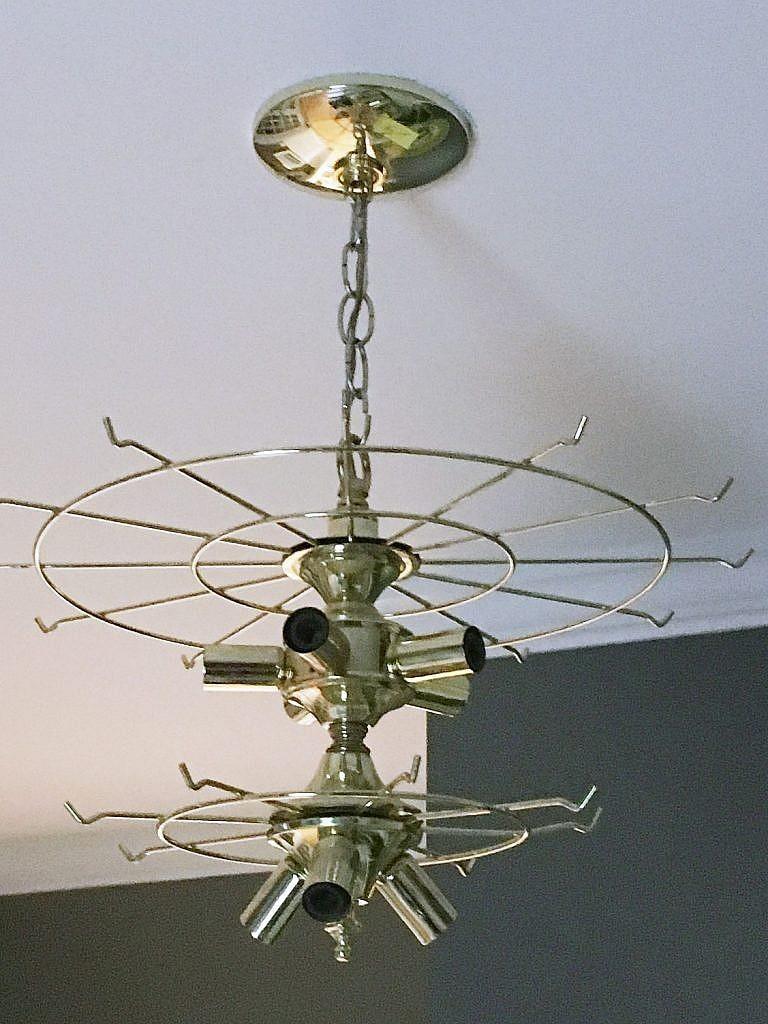 ideas to redo a chandelier