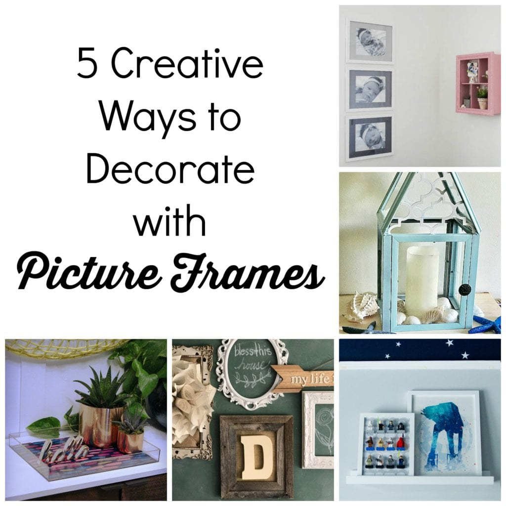 How to create a colorful tray from a cheap picture frame knock 1 diy lantern from dollar store frames our crafty mo jeuxipadfo Image collections