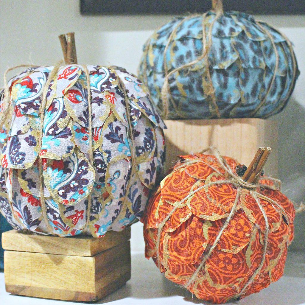 fall pumpkin craft - feature