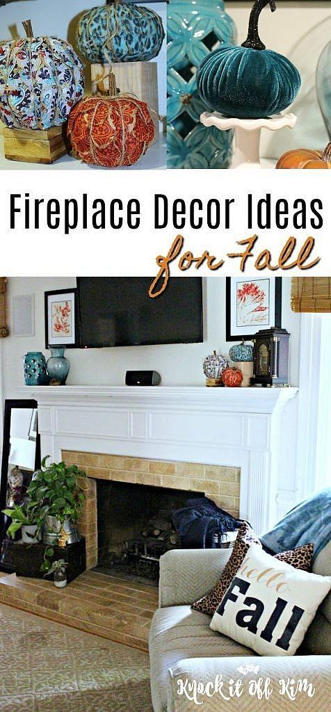 fireplace decor ideas- pin