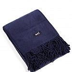 fall mantle - navy blanket